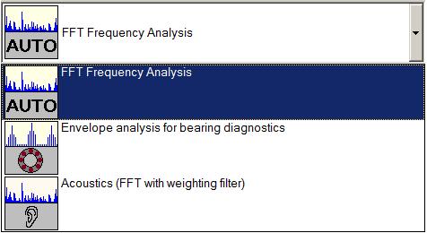 FFT Analyzer Software Module